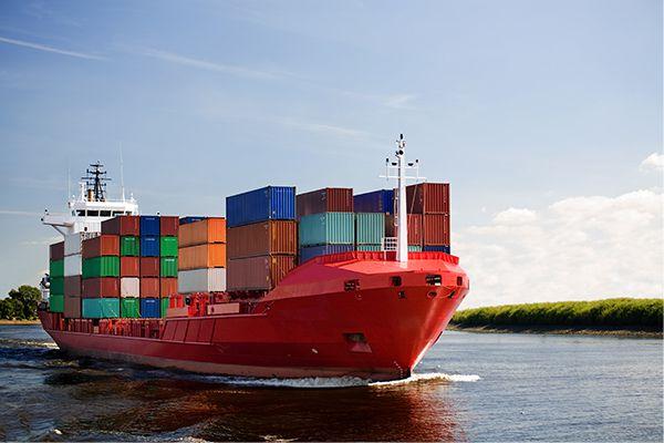 Доставка контейнера морем в РФ