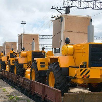 Перевозка спецтехники жд транспортом
