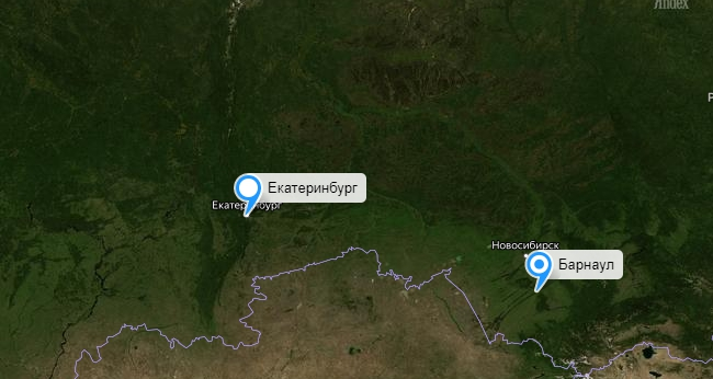 Грузоперевозки Екатеринбург Барнаул